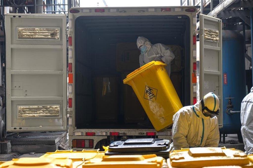 Доставка отработанных материалов на утилизацию