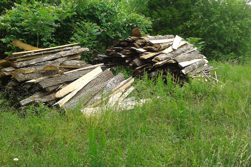 Этап переработки древесины