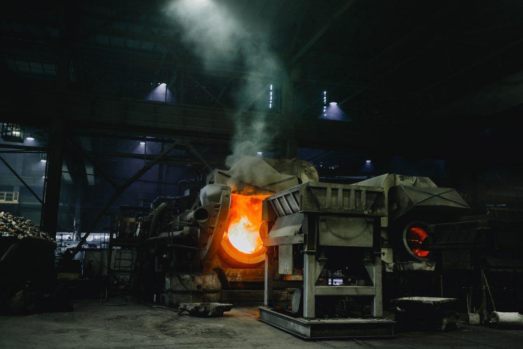 Металлургический или перерабатывающий завод – конечный пункт