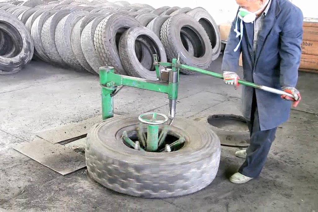 Оборудование для утилизации автопокрышек