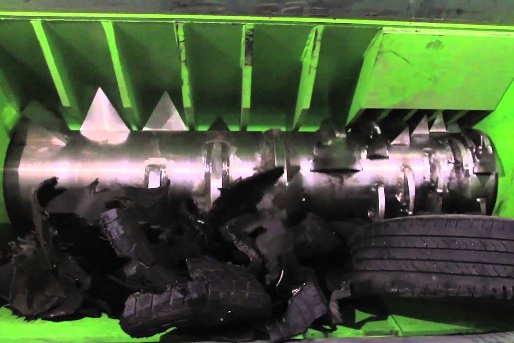 Одновальные шредеры и процесс обработки