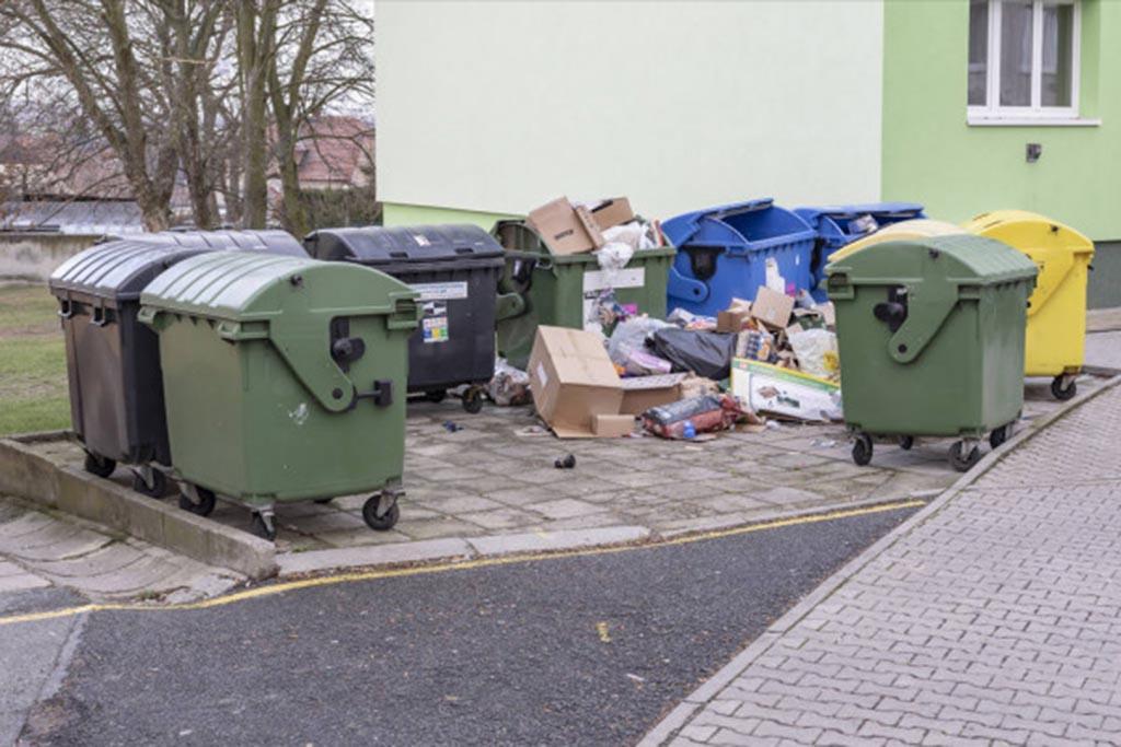 Почему не вывозят мусор, кто виноват