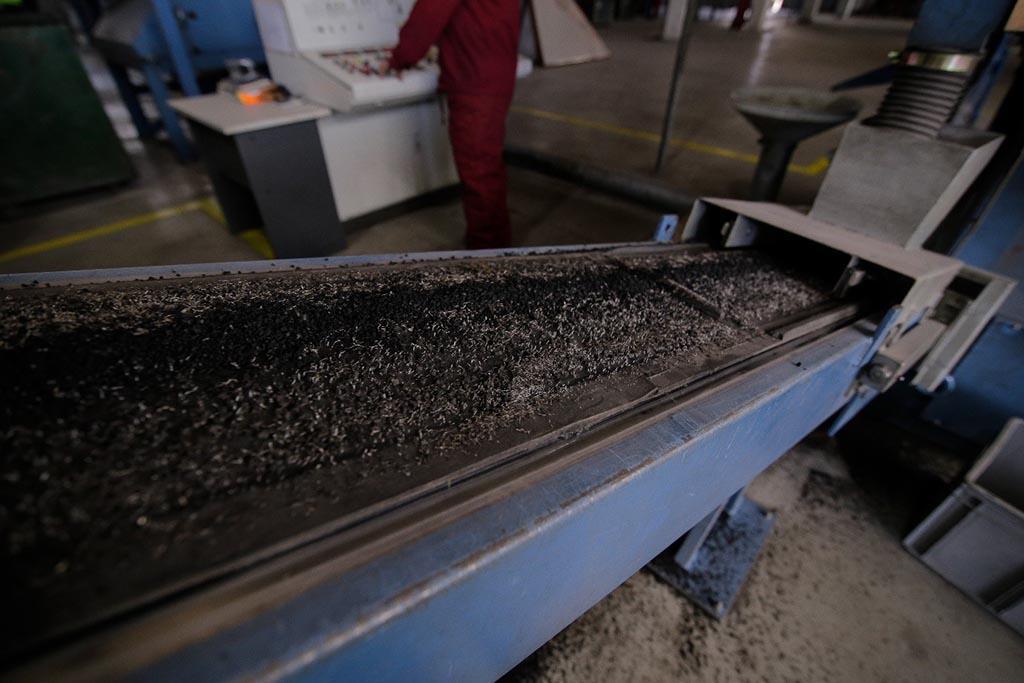 Производство резиновой крошки