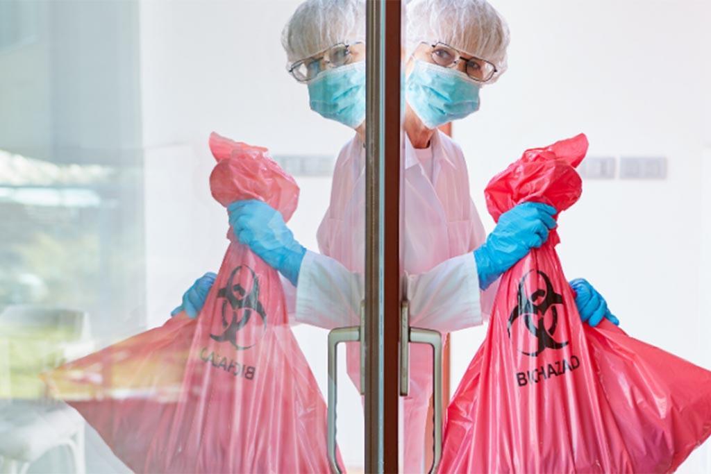 Учет передвижения медицинских отходов и правила транспортировки отходов В класса