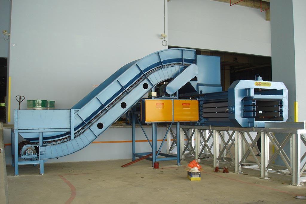 Установка необходимого оборудования для производства пульпы