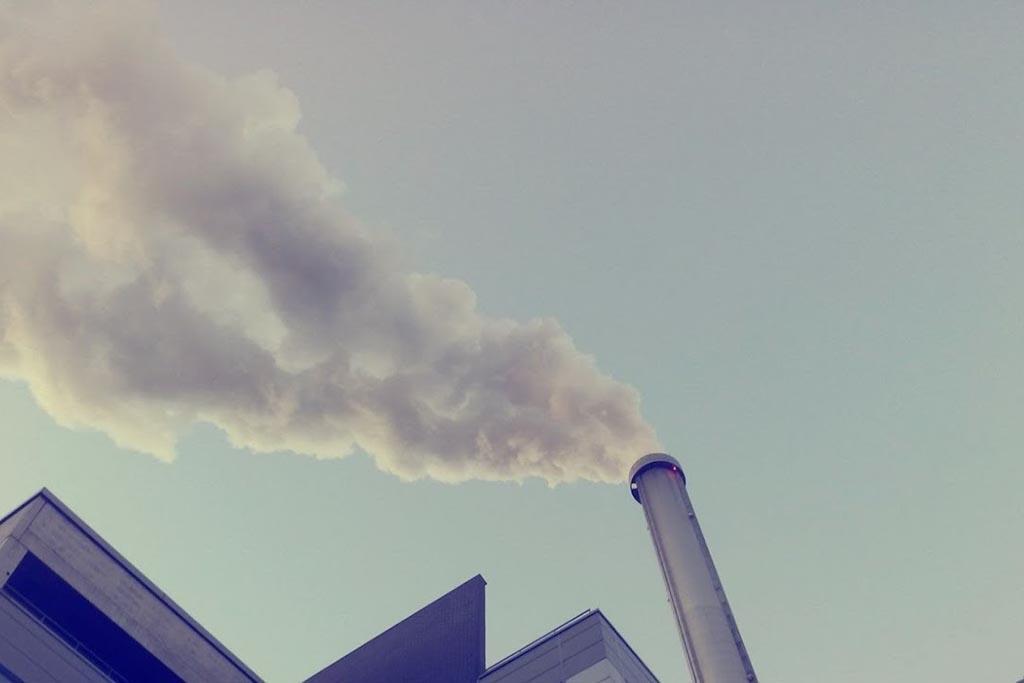 Выброс продуктов горения отходов в атмосферу
