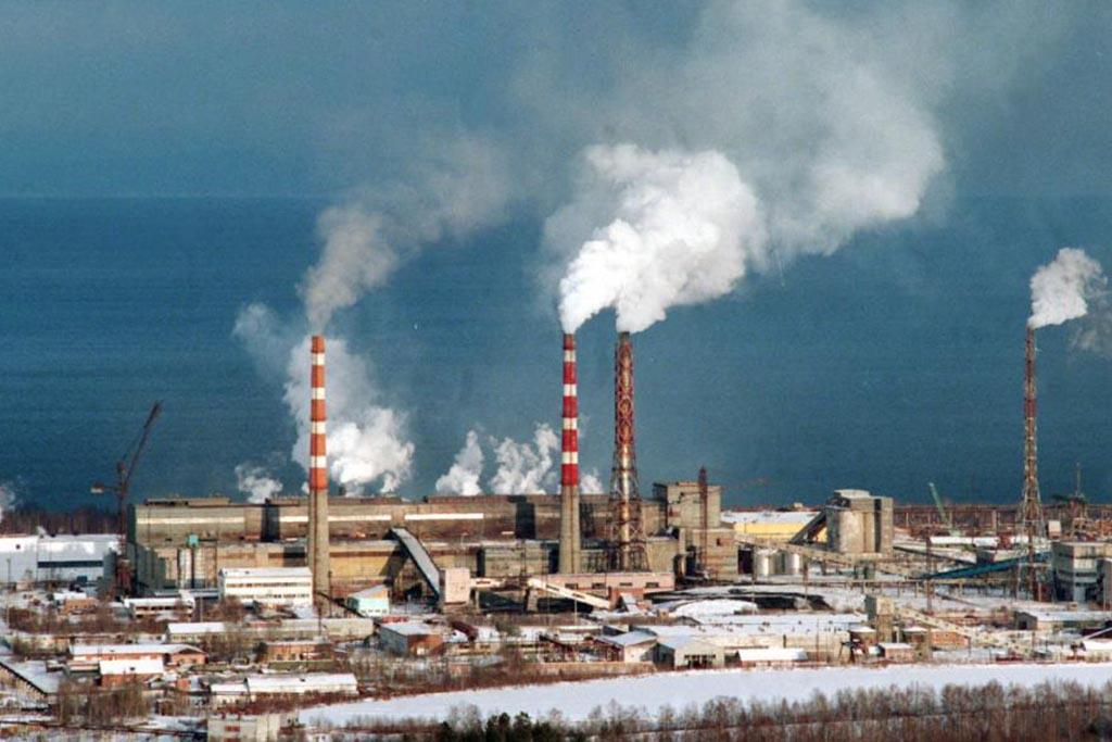 Выбросы целлюлозо-бумажного комплекса