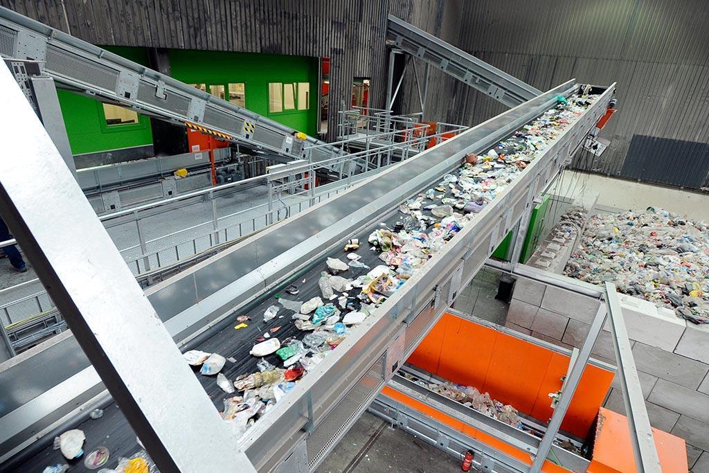 Завод переработки мусора