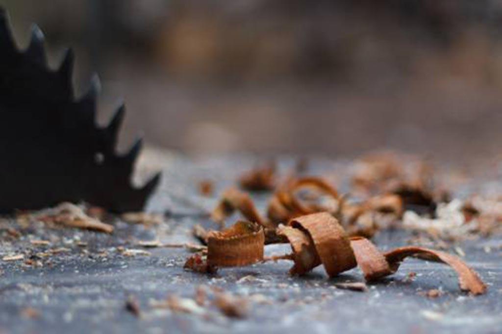 Происхождение или состояние древесных отходов