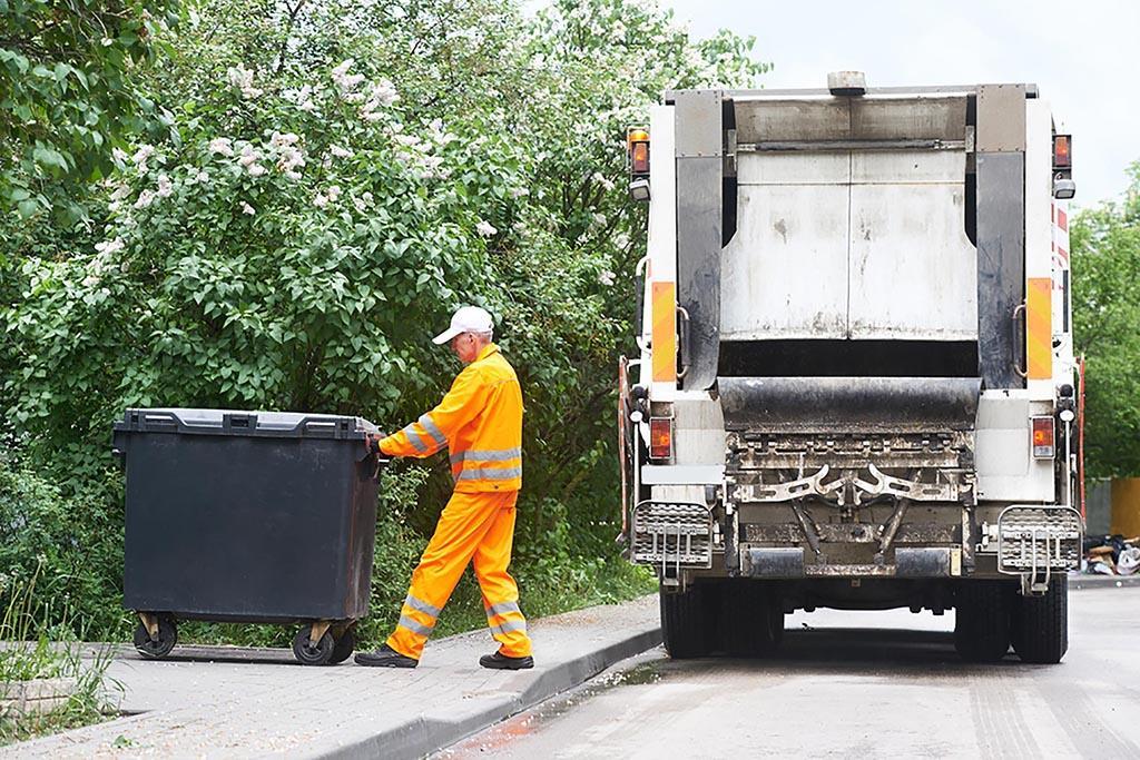 Использование усредненного показателя плотности 250 кг/м3 для не сортированного мусора