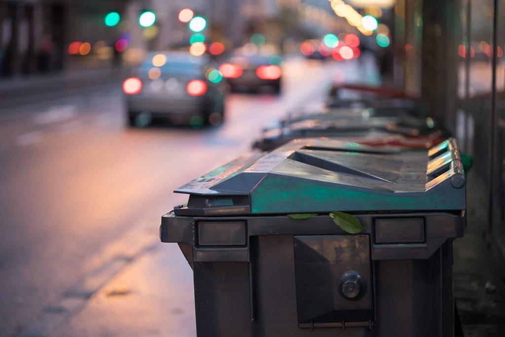 Соблюдение закона об обращении с мусором