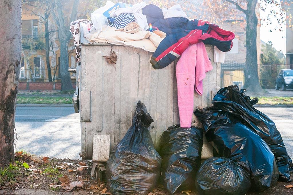 Вынести в мусорку